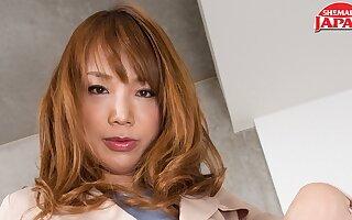 Miki: Fox in Fishnets - TGirlJapan