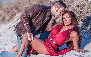 Wolf Hudson & Jessy Dubai in My Dad's TS Girlfriend Video